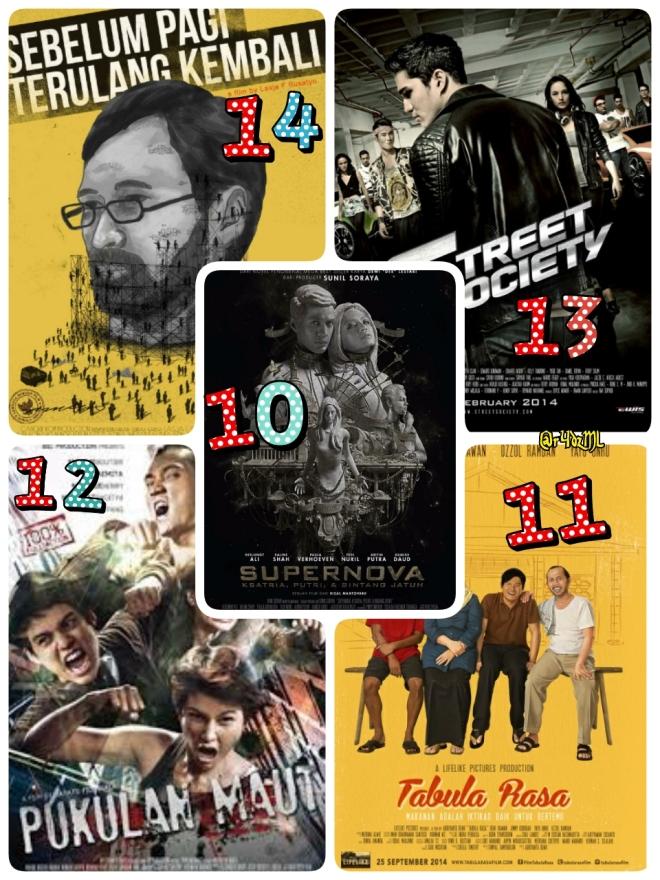 Kaleidoskop [Film Indonesia] 2014 : 14 Film Indonesia Terbaik