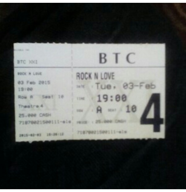 Tiket Nonton Rock N Love