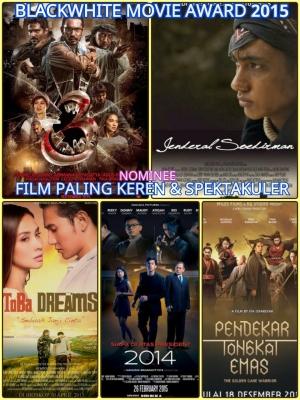 Film Paling Keren & Spektakuler - Nominasi