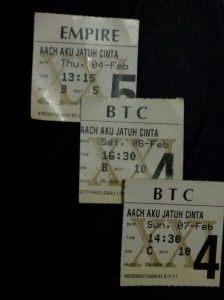 Tiket AAJC