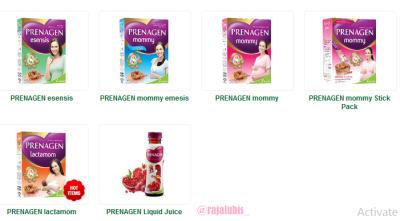 produk prenagen