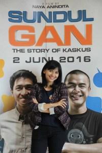 Naya Anindita, Sutradara Film Sundul Gan The Story of Kaskus