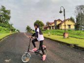 Bandung Berkebun yang mencoba Bike to Work