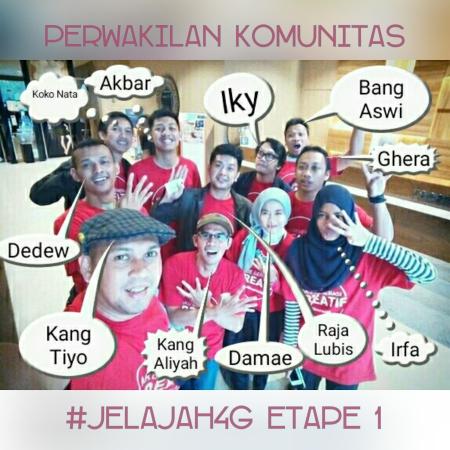 Jelajah4G etape 1