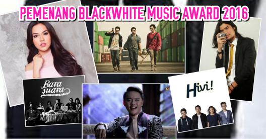 [PEMENANG] BlackWhite Music Award (BMA) 2016